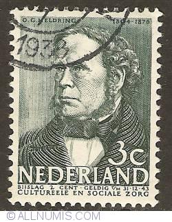 Imaginea #1 a 3 + 2 Cent 1938 - Ottho Gerhard Heldring