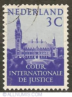 Image #1 of 3 Cent 1953 - Palace of Peace The Hague