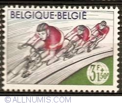 Image #1 of 3+1,50 Francs 1963 - Cycling