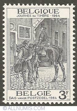 Image #1 of 3 Francs 1964 - Postman