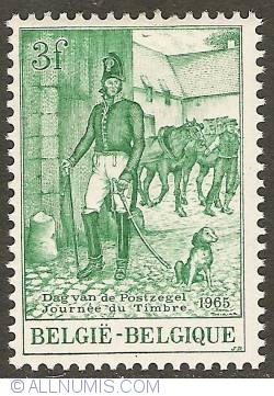 Image #1 of 3 Francs 1965 - Postmaster