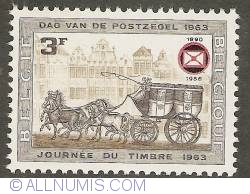 Image #1 of 3 Francs 1966 - Post Carriage