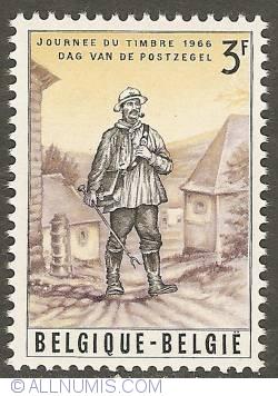 Image #1 of 3 Francs 1966 - Postman