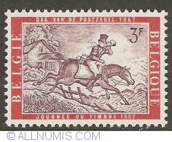 Image #1 of 3 Francs 1967 - Postman