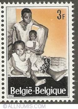 Image #1 of 3 Francs 1967 - Refugees