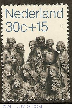 Image #1 of 30 + 15 Cent 1971 - St. John the Baptist and the Scribes