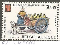Image #1 of 30 + 15 Francs 1975 - Milk seller