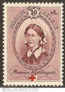 Image #1 of 30 + 5 Centimes 1939 - Florence Nightingale