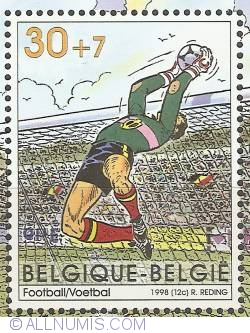 Image #1 of 30 + 7 Francs 1998 - Footbal