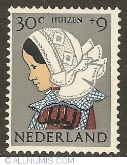 Image #1 of 30 + 9 cent 1960 - Costume of Huizen