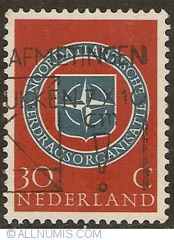 Image #1 of 30 Cent 1959 - 10th Anniversary of NATO