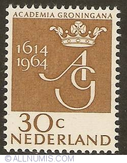 Image #1 of 30 Cent 1964 - 350th Anniversary of Groningen University