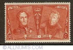Image #1 of 30 Centimes 1925 - Leopold I and Albert I
