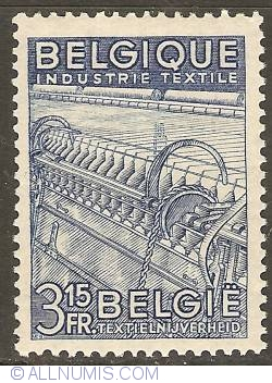 Image #1 of 3,15 Francs 1948 - Textile Industry