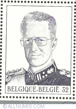 Image #1 of 32 Francs 1999 - King Baudouin I