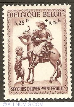 Image #1 of 3,25 + 3,25 Francs 1941 - Winter Help - St. Martin