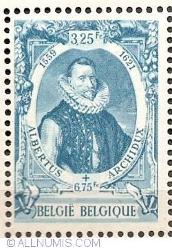 Image #1 of 3,25+ 6,75 Francs 1942 - Archduke Albert VII of Austria
