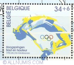 Image #1 of 34 + 6 Francs 1996 - High jumping