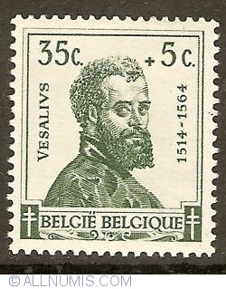 Image #1 of 35 + 5 Centimes 1942 - Vesalius