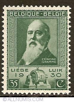 Image #1 of 35 Centimes 1930 - Zenobe Gramme