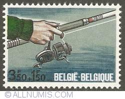 Image #1 of 3,50 + 1,50 Francs 1970 - Fishing