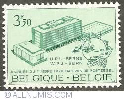 Image #1 of 3,50 Francs 1970 - Universal Postal Union - Bern