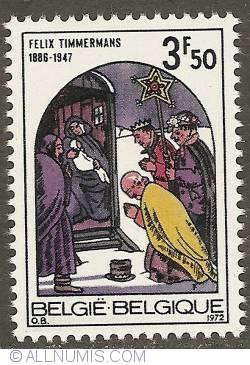 Image #1 of 3,50 Francs 1972 - Christmas - Epiphany