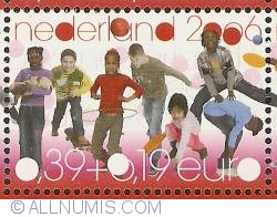 Image #1 of 39 + 19 Eurocent 2006 - Children's Stamps