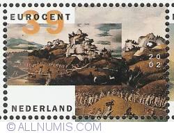 Image #1 of 39 Euro Cent 2002 - Jan Mostaert - West Indies landscape