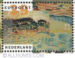 Image #1 of 39 Euro Cent 2002 - Jan Sluijters - Landscape