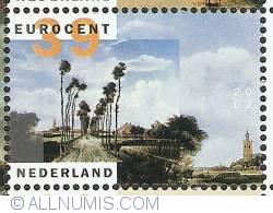 Image #1 of 39 Euro Cent 2002 - Meindert Hobbema - Laantje van Middelharnis