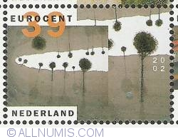 Image #1 of 39 Euro Cent 2002 - Michael Raedecker - Kismet