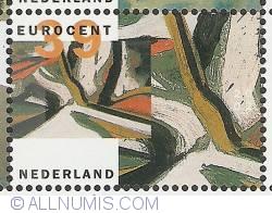 Image #1 of 39 Euro Cent 2002 - Robert Zandvliet - Without Title