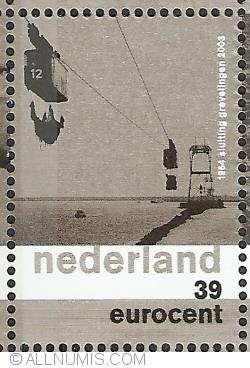 Imaginea #1 a 39 Eurocent 2003 - Closure of Grevelingen 1964