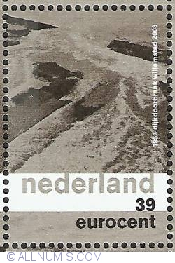Imaginea #1 a 39 Eurocent 2003 - Dike Breach near Willemstad, North Brabant 1953