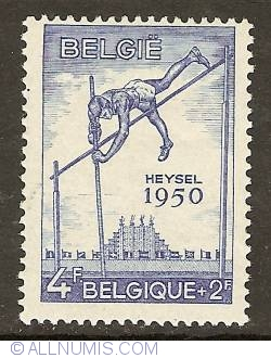 Image #1 of 4 + 2 Francs 1950 - Pole-jumping