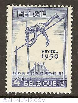 Imaginea #1 a 4 + 2 Francs 1950 - Pole-jumping