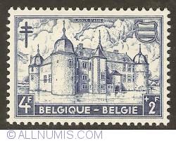 Image #1 of 4 + 2 Francs 1951 - Castle of Lavaux-Ste-Anne