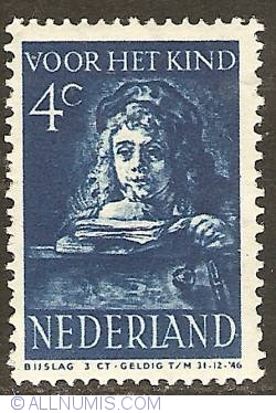 Image #1 of 4 + 3 Cent 1941 - Rembrandt's son Titus