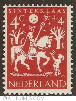 Image #1 of 4 + 4 Cent 1961 - St. Nicholas