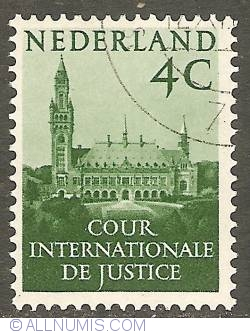 Image #1 of 4 Cent 1951 - Palace of Peace The Hague