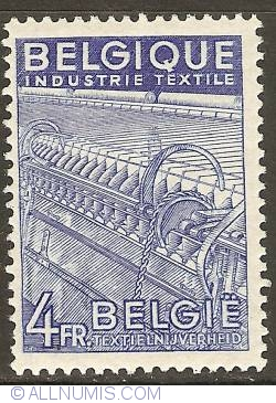 Image #1 of 4 Francs 1949 - Textile Industry