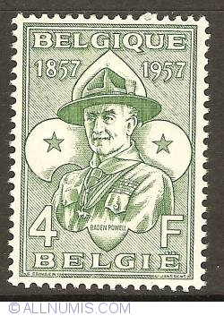 Image #1 of 4 Francs 1957 - Lord Baden-Powell