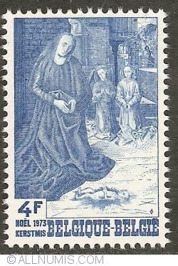 Image #1 of 4 Francs 1973 - Nativity