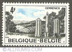 Image #1 of 4 Francs 1974 - Gemmenich - 3 States point