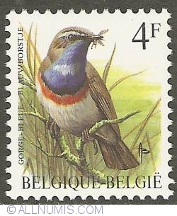 Image #1 of 4 Francs 1989 - Bluethroat