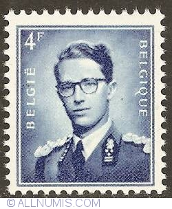 Image #1 of 4 Francs - King Baudouin 1953