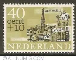 Image #1 of 40 + 10 Cent 1965 - Medemblik