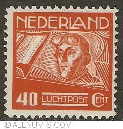 Image #1 of 40 Cent 1928 - Airmail - Pilot G.A. Koppen