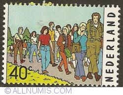Image #1 of 40 Cent 1976 - International Four Days Marches Nijmegen